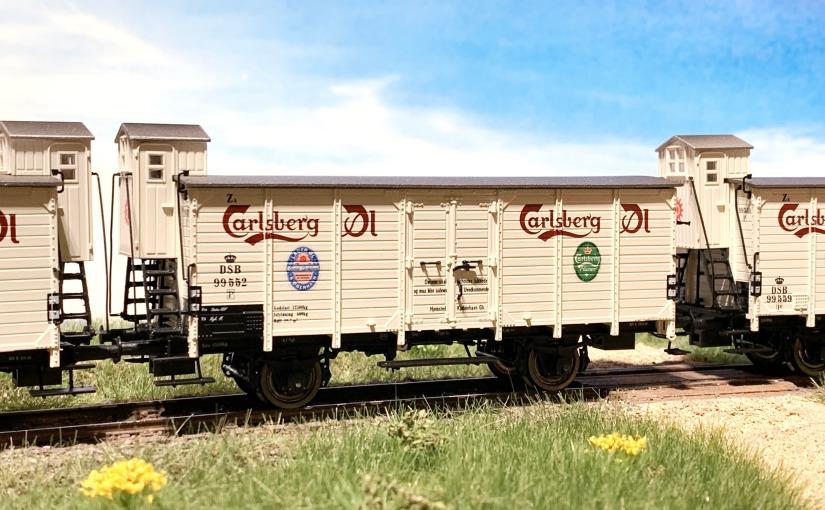 Carlsbergvogne fra Brawa