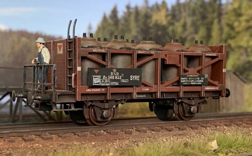 Syrekrukkevogn fra Sachsenmodelle
