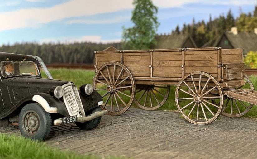 Hestevogn fra Miniart
